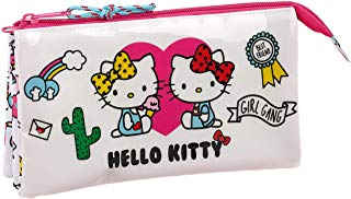 Hello Kitty Estuche portatodo triple escolar